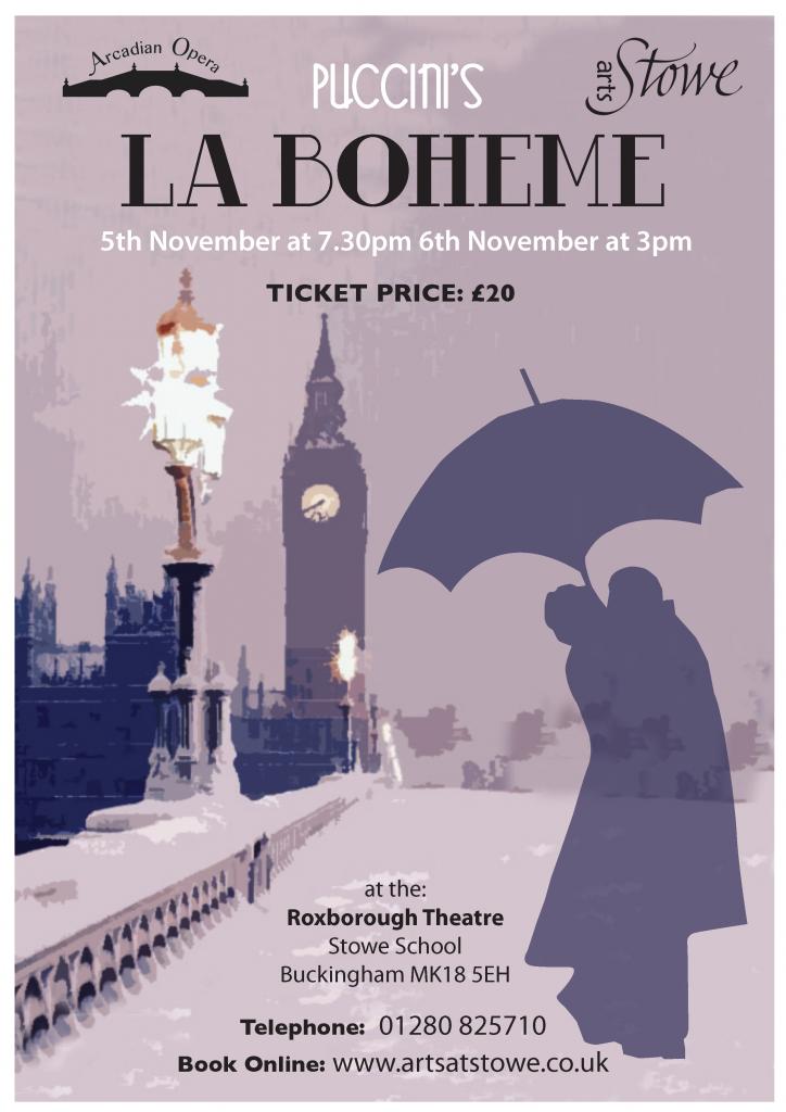 La Boheme poster2